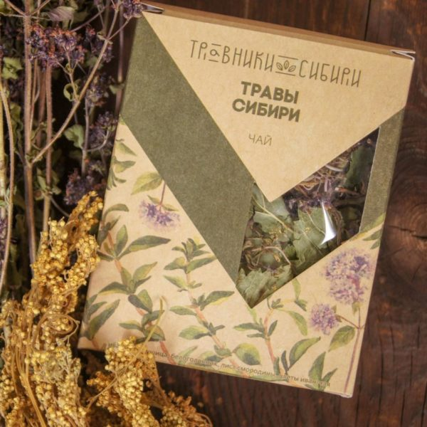 Травы Сибири подарочный чай