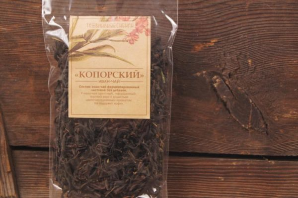 Чай копорский