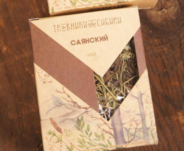 Чай Саянский подарочный