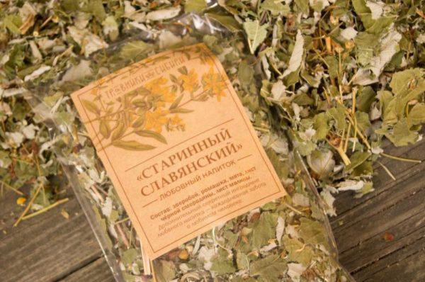 Чай старинный славянский любовный напиток пакет