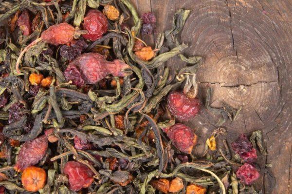 Чай ягодное лукошко
