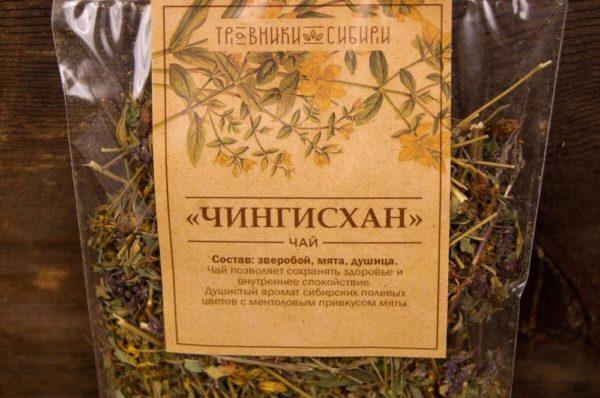 Чингисхан чай