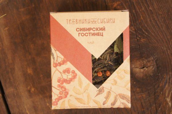 Подарочный чай Сибирский гостинец