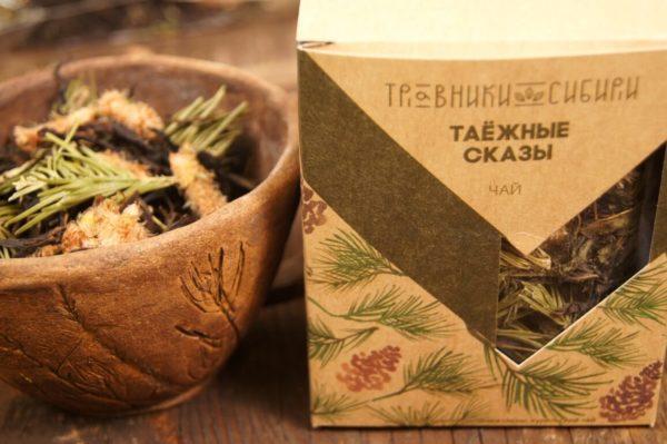 Подарочный чай Таёжные сказы