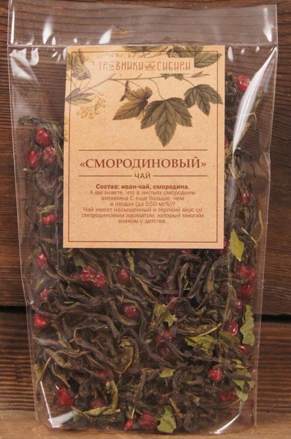 Смородиновый чай в пакете