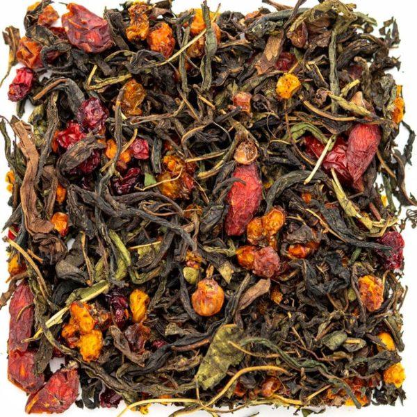 Ягодное лукошко подарочный чай