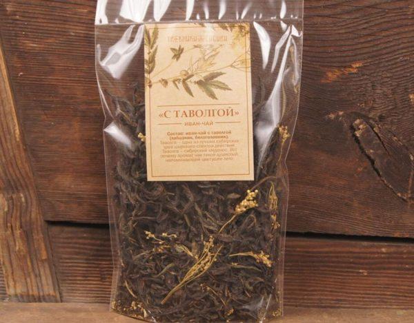Чай с белоголовником (таволгой)